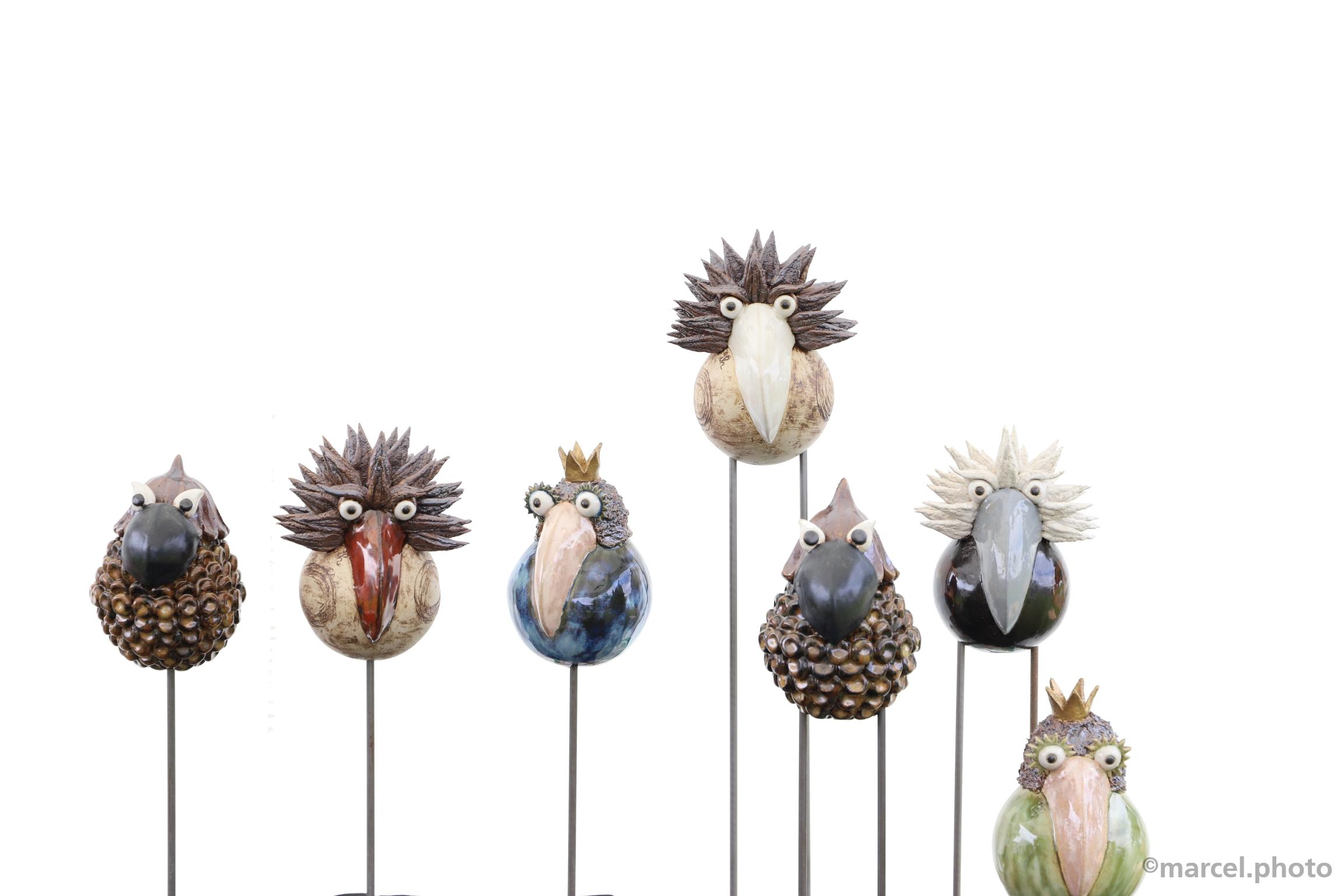 crazy birds (Keramikmarkt Jegenstorf 2018)