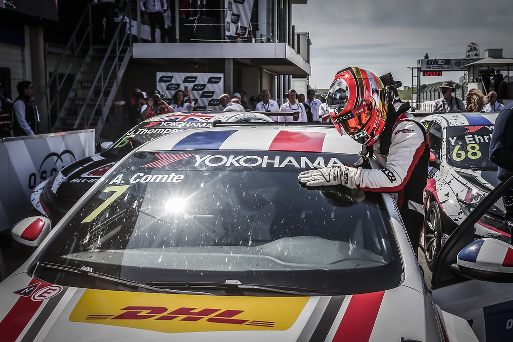 COMTE Aurelien, (fra), Peugeot 308 TCR team DG Sport Competition, portrait during the 2018 FIA WTCR World Touring Car cup of Zandvoort, Netherlands from May 19 to 21 - Photo Jean Michel Le Meur / DPPI