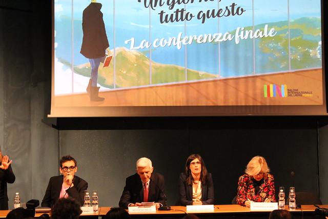 Nicolas Lagioia - Massimo Bray - Chiara Appendino – Antonella Parigi