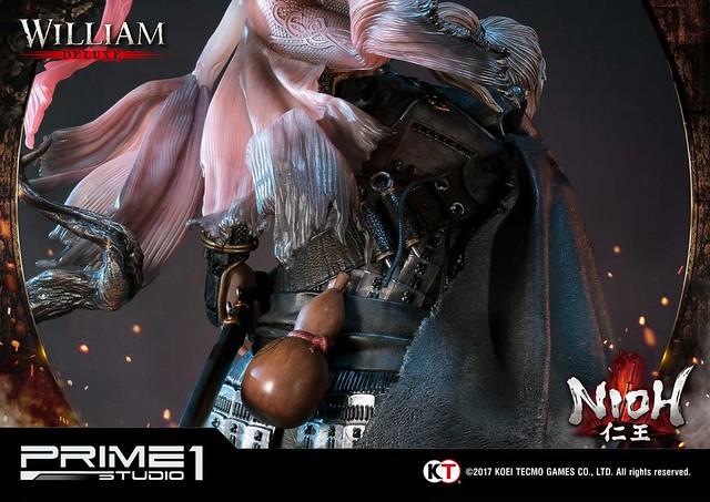 Prime 1 Studio - Premium Masterline《仁王》威廉 1/4比例雕像(プレミアムマスターライン 仁王 ウィリアム) 一般版/DX版