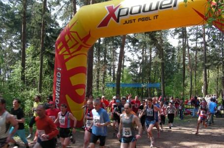 Lesní běh Kalichem-reportáž z minulého století