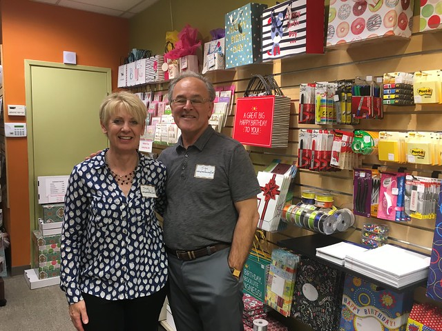 April 20, 2018 - Mixer at Lafayette Pack and Ship + Print