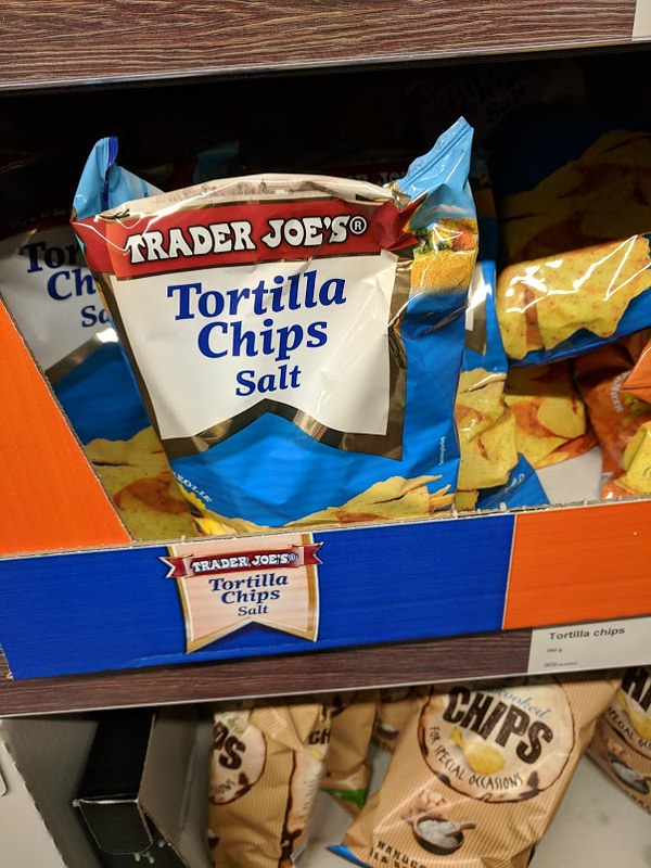 Trader Joe's Tortilla chips