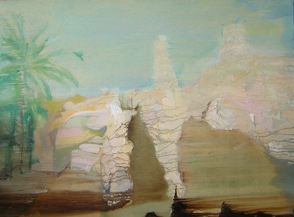 Donna Mebarka - 73x100 cm. Oil on canvas 2007
