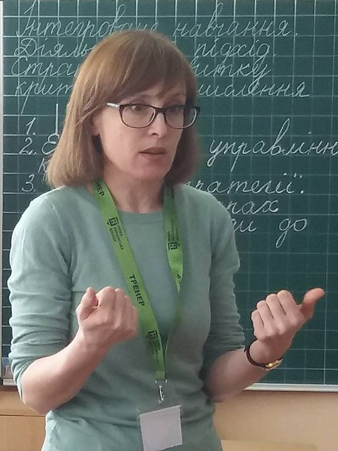 Підготовка тренерів Нової Української Школи в ЗОШ № 3