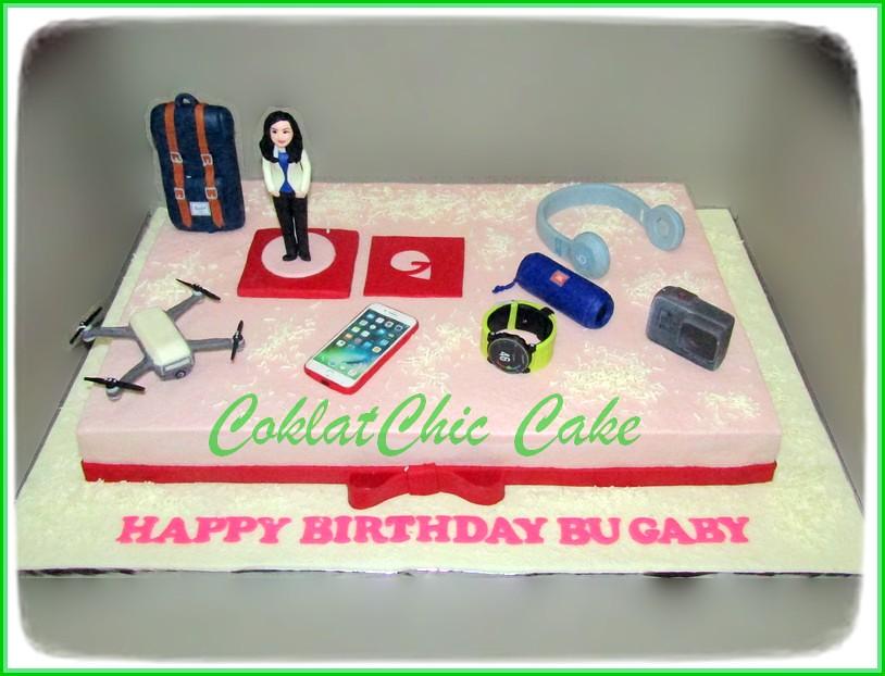 Cake Gadgets bu Boss GABY 40x60 cm
