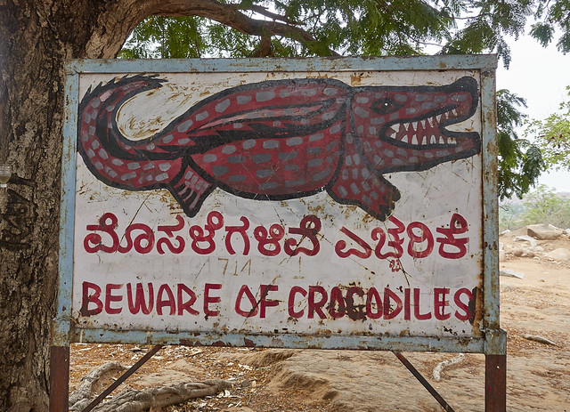 Beware of crocodiles