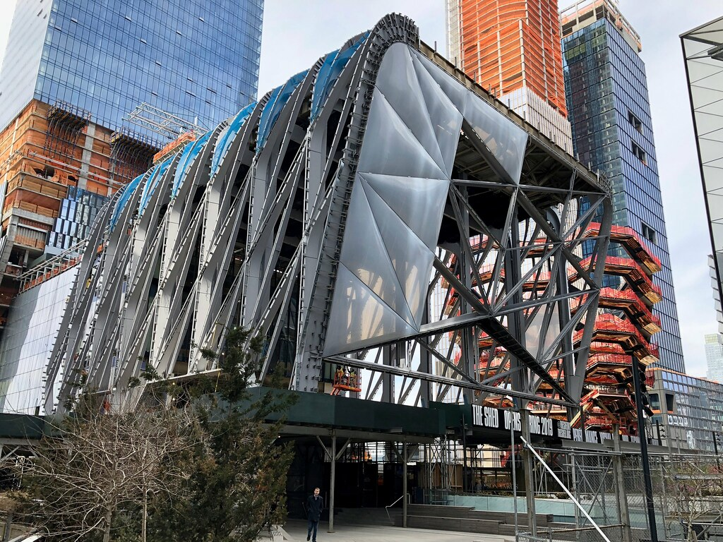 The Shed in Hudson Yards