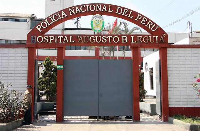 Charla en Hospital B. Leguía