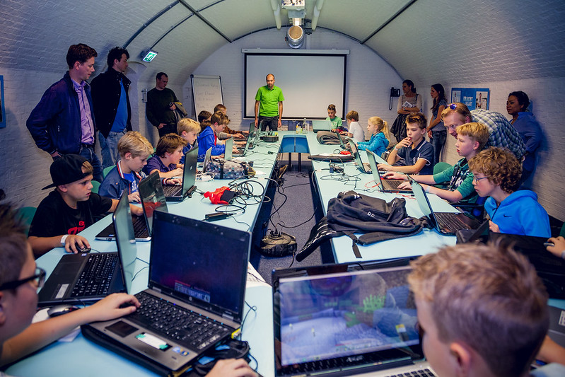 GeoCraftNL: Minecraft Heritage Project by GeoFort, THE NETHERLANDS