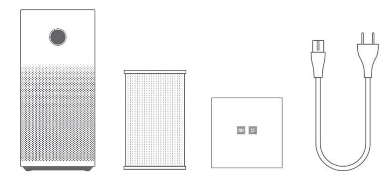 Xiaomi OLED Display Smart Air Purifier 2S レビュー (14)