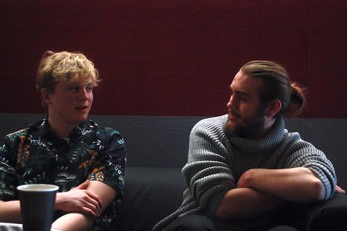 William Plante och Oskar Lindström