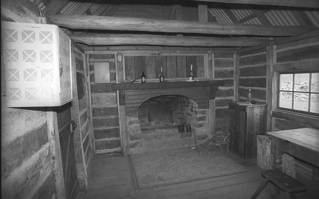 Fitzgerald's Hut & Site , Alpine Huts 1994 sheet 13 1
