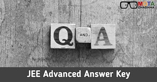 JEE Advnaced Answer Key