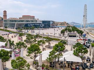 Promenade Robert Laffont, Marseille