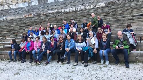 Asociación 5 de Octubre en la Ruta125 por Lanestosa y Pozalagua