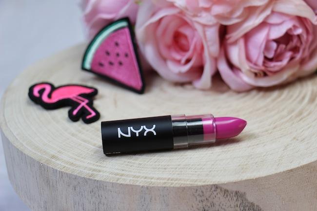 Rouge à lèvres Shocking Pink de Nyx, le rose parfait pour le printemps/été