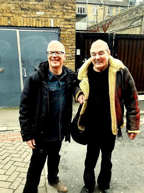 2018 - The Stranglers - Dave Greenfield  & Michael Friedmann - in London