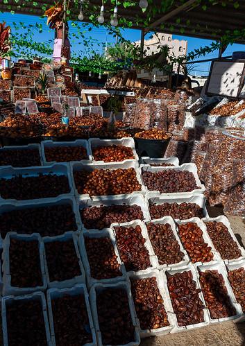 Dates market, Al-Jawf Province, Sakaka, Saudi Arabia