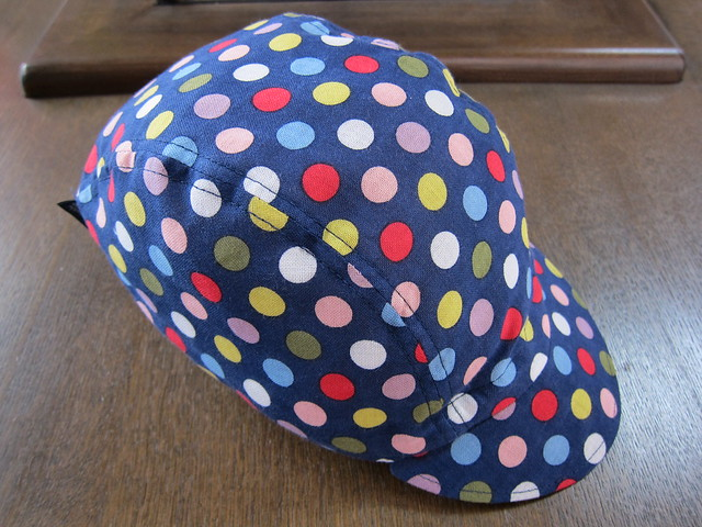 Photo:【 5色ドット 紺 】 ➡︎ SOLD OUT By jun.skywalker (enishi hand made cyclecap)