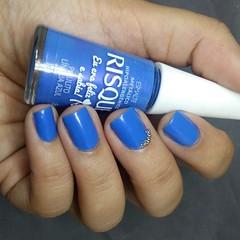 Pirulito Língua Azul, Risque