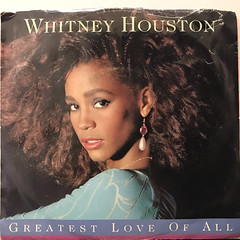 WHITNEY HOUSTON:GREATEST LOVE OF ALL(JACKET A)