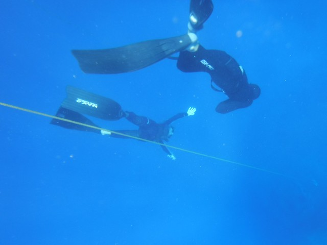 Sam, Constant Weight to 17m, Freedive Utila