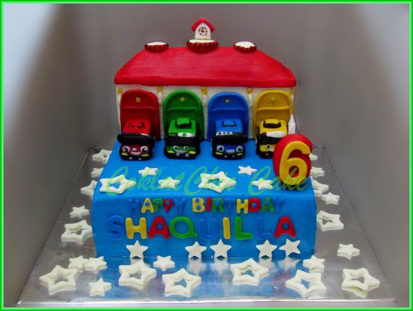 Cake Tayo SHAQUILLA 15 cm