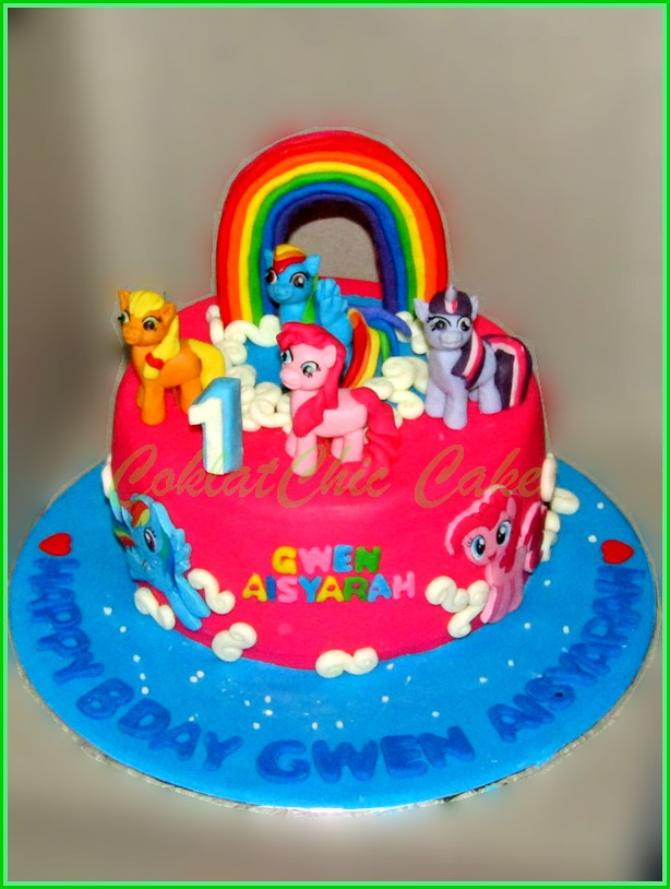 Cake My Little Pony GWEN 15 cm
