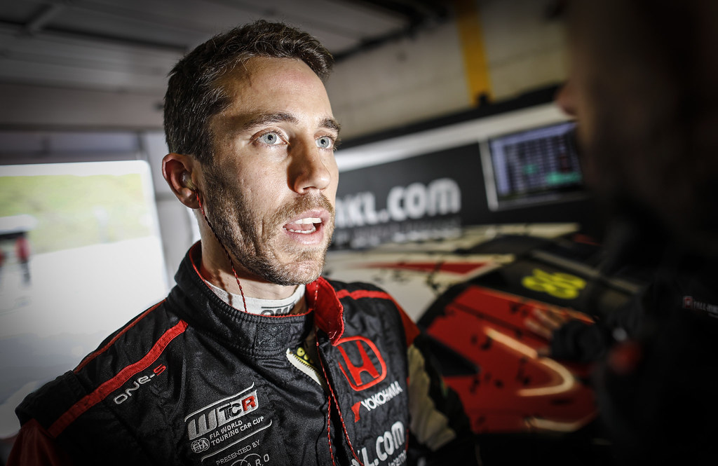 GUERRIERI Esteban, (arg), Honda Civic TCR team ALL-INKL.COM Munnich Motorsport, portrait during the 2018 FIA WTCR World Touring Car cup of Zandvoort, Netherlands from May 19 to 21 - Photo Francois Flamand / DPPI