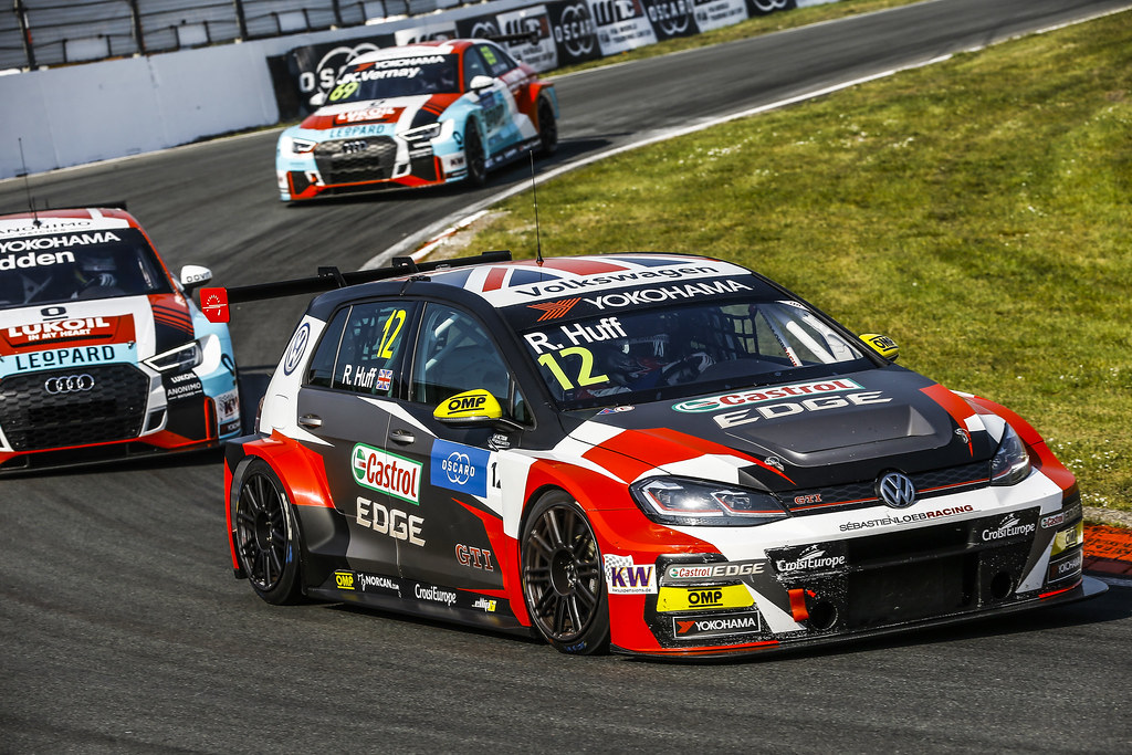 12 HUFF Rob, (gbr), Volkswagen Golf GTI TCR team Sebastien Loeb Racing, action during the 2018 FIA WTCR World Touring Car cup of Zandvoort, Netherlands from May 19 to 21 - Photo Jean Michel Le Meur / DPPI