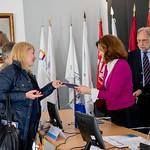 Seg, 16/04/2018 - 10:13 - A 7.ª edição da Semana Internacional decorreu entre 16 e 20 de abril, no âmbito do Programa de Mobilidade Internacional Erasmus+, com o objetivo de promover a troca de experiências e boas práticas de trabalho entre colegas de instituições de ensino superior, de 20 países europeus.