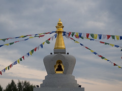 Buddha on the Baikal shore