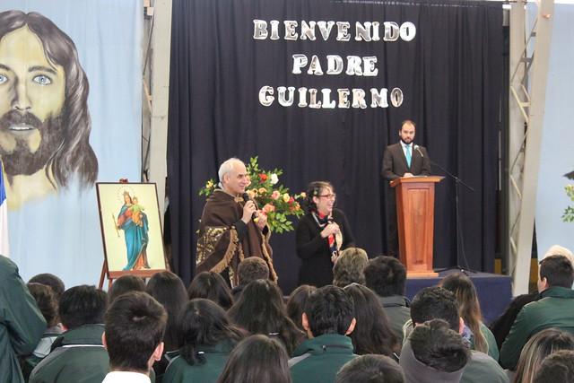 2018 - Bienvenida Padre Guillermo