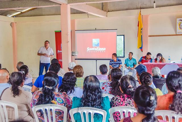 SOCIALIZACIONES EN   LAS COMUNIDADES PAJIZA Y MANANTIAL DE GUANGALA