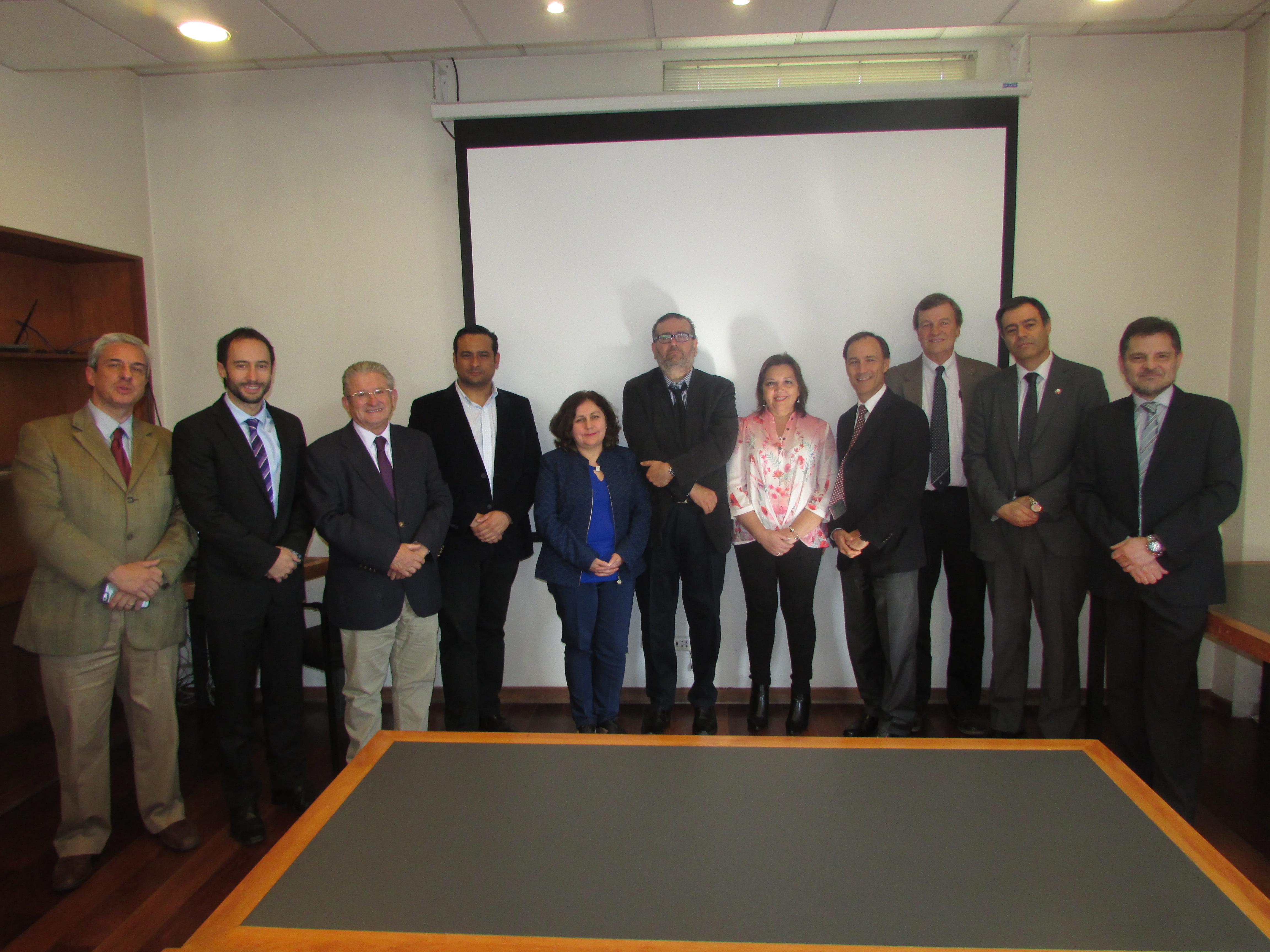 FTH con Jefe de Gabinete del Ministro de Hacienda, Francisco Matte – 12 Abril 2018