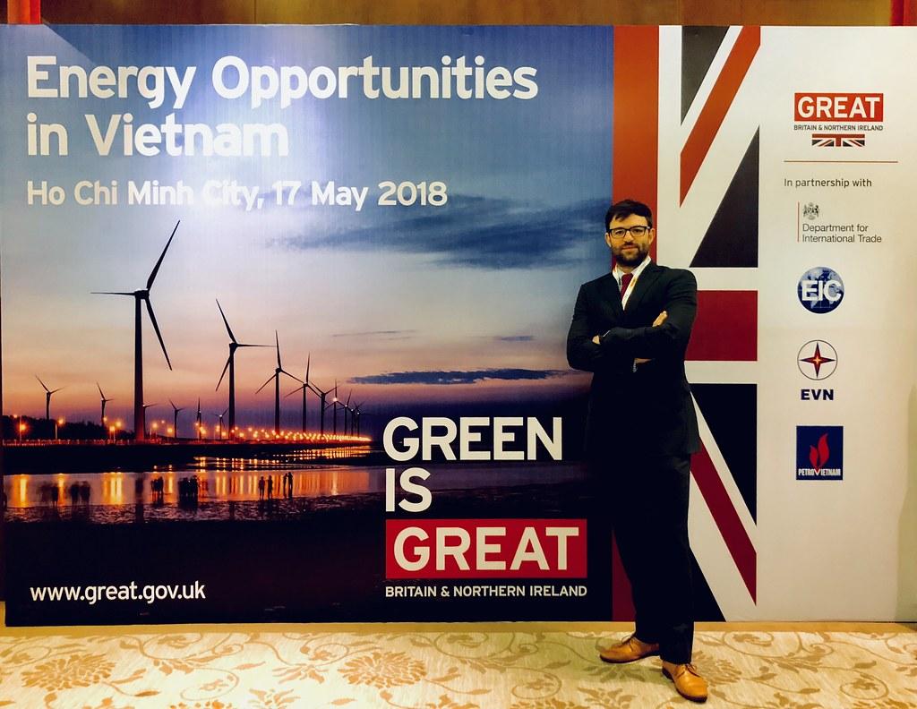 Christopher Dorman - - Development Manager, Vietnam