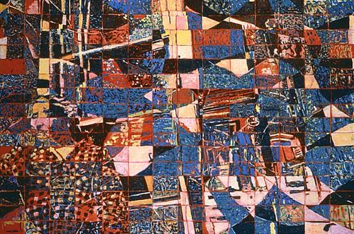 "Smoker 1995 oil on canvas 40"" x 30"""