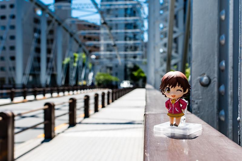 南高橋で撮影したねんどろいど
