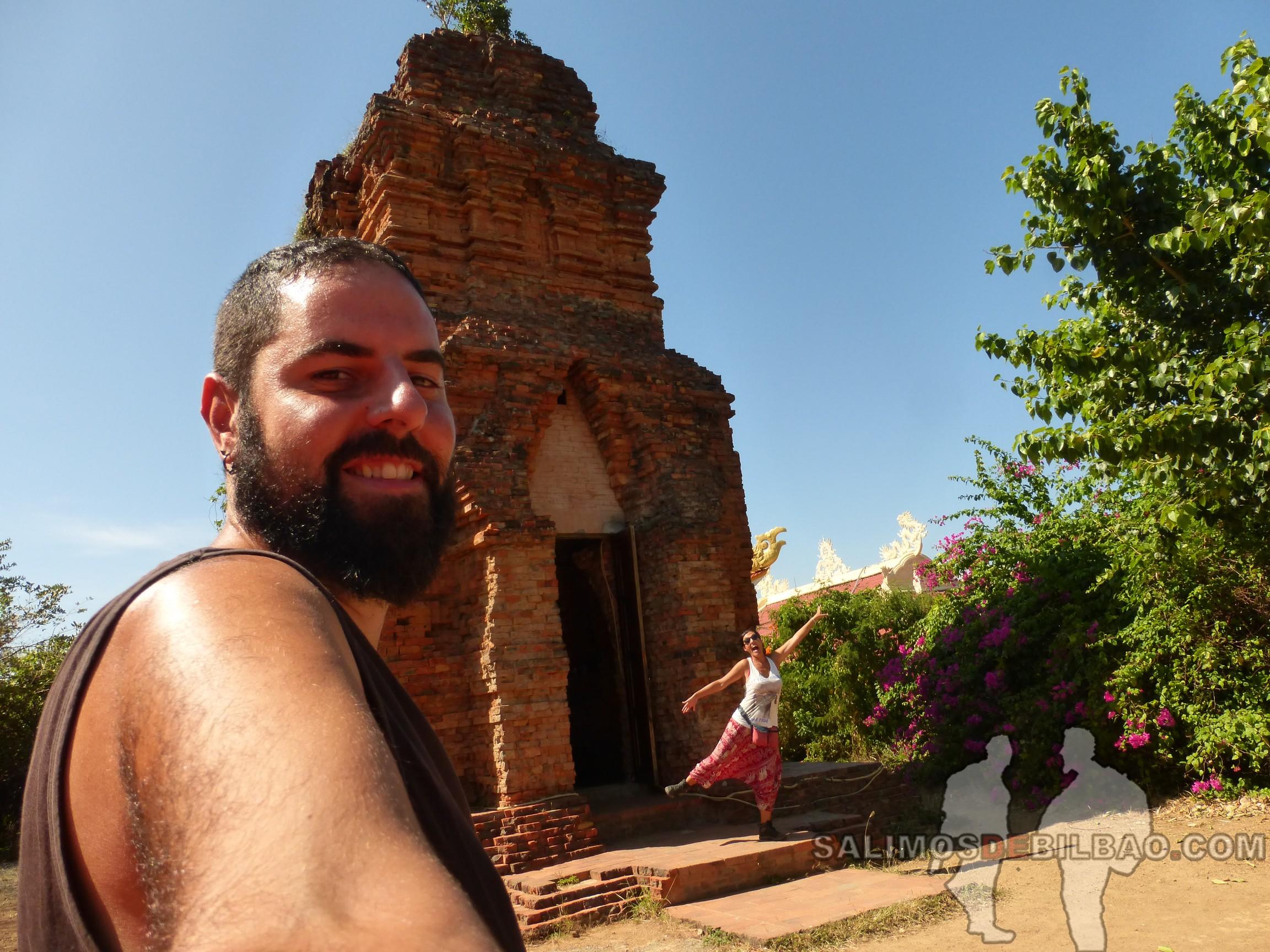 1300. Katz y Saioa, Ruinas Po Sah Inu, Phan Thiet