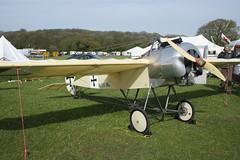 G-GSAL Fokker E.III Replica (GS-101) Popham 040514