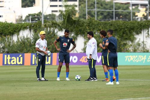 73c1554eaf Seleção Sub-20 treina no CT do Corinthians - Confederação Brasileira ...