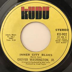 GROVER WASHINGTON, JR.:INNER CITY BLUES(LABEL SIDE-A)