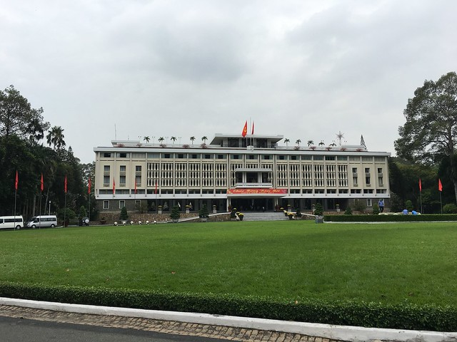 ベトナム戦争終結の地となった統一会堂