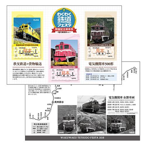 わくわく鉄道フェスタ開催記念~電気機関車ver~