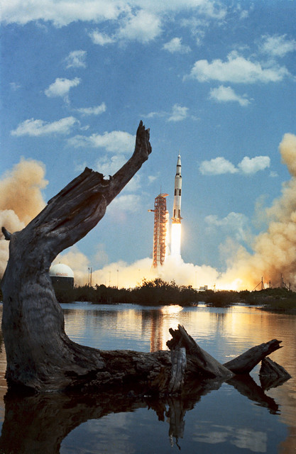 #TBT: Apollo 16 Launches – April 16, 1972