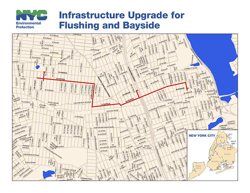 Infrastructure Upgrade for Flushing and Bayside