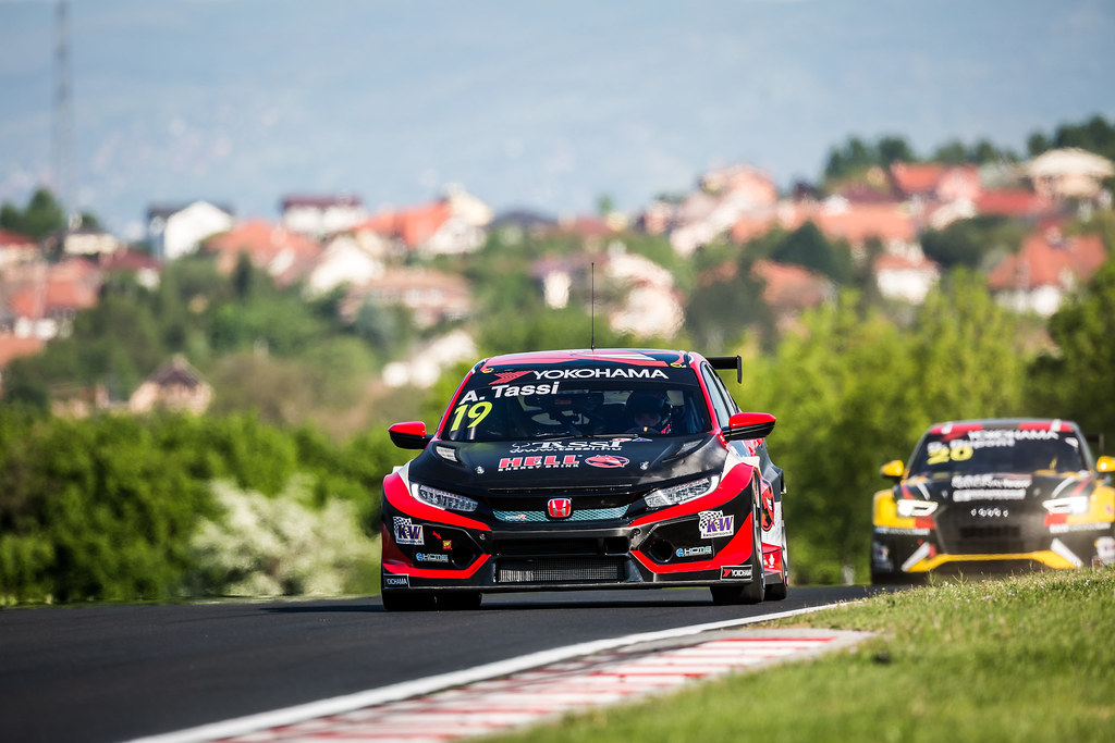 19 TASSI Attila (HUN), KCMG, Honda Civic TCR, action during the 2018 FIA WTCR World Touring Car cup, Race of Hungary at hungaroring, Budapest from april 27 to 29 - Photo Thomas Fenetre / DPPI