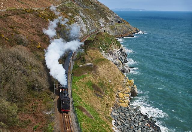 Steam Train from Cliff Walk