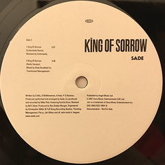 SADE:KING OF SORROW(LABEL SIDE-B)